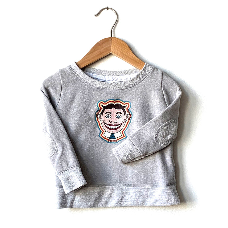 Tillie (Color) Grey LS Tee, Toddler