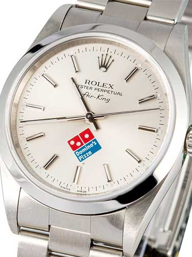 Rolex Domino Pizza