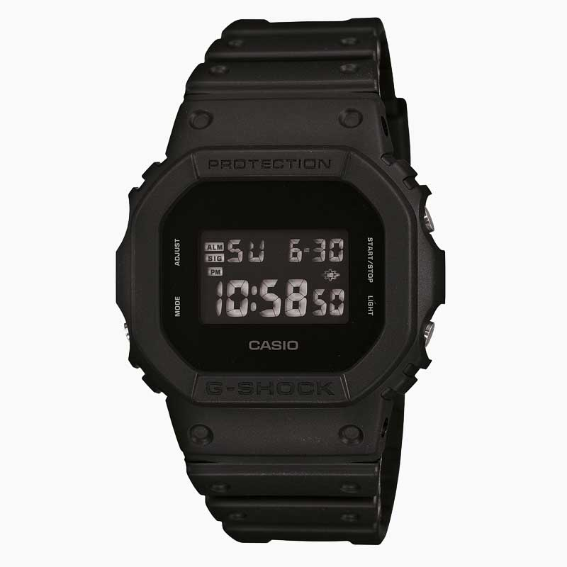 Reloj Vintage Casio G-Shock DW-5600BB-1DR Digital Resina Negro (LIMITED)