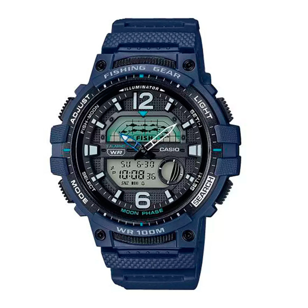 Reloj Casio Fishing Gear WSC-1250H-2AVDF Moon Phase - Dando la Hora