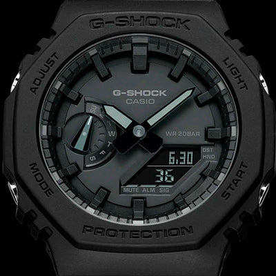Reloj Casio G-Shock Royal Oak GA-2100-1A1DR Carbon Core - Dando la Hora