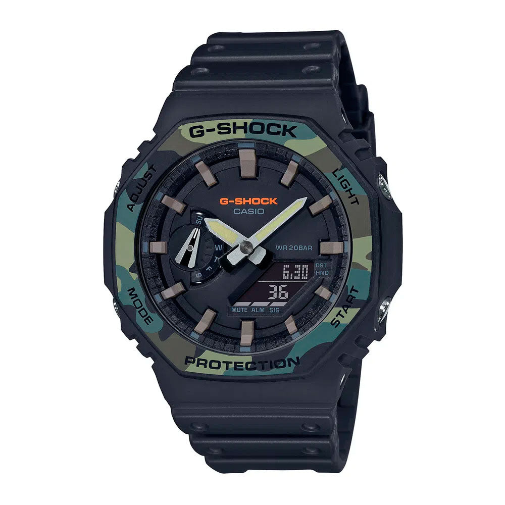 Reloj Casio G-Shock Royal Oak GA-2110SU-1ADR Carbon Core - Dando la Hora