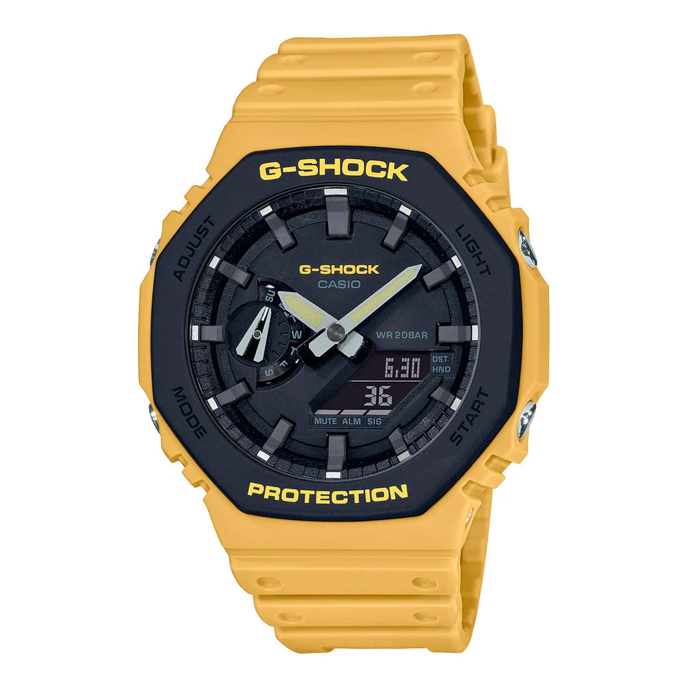 Reloj Casio G-Shock Royal Oak GA-2110SU-9ADR Carbon Core - Dando la Hora