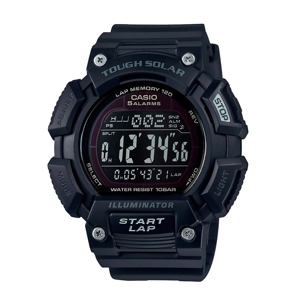 Reloj Casio Sports Gear Lap Memory STL-S110H-1B2CF Tough Solar [EXCLUSIVO]