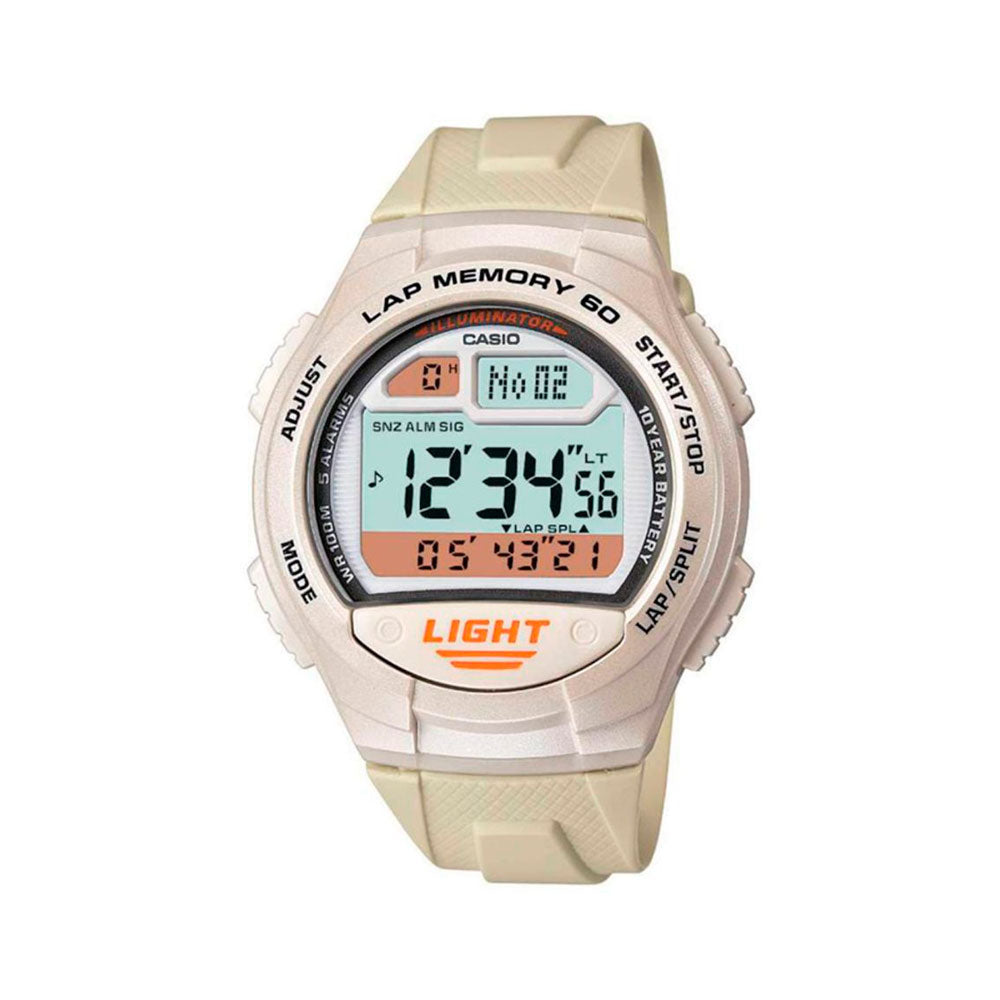 Reloj Casio Vintage Sports Lap Memory W-734-7AVDF Digital