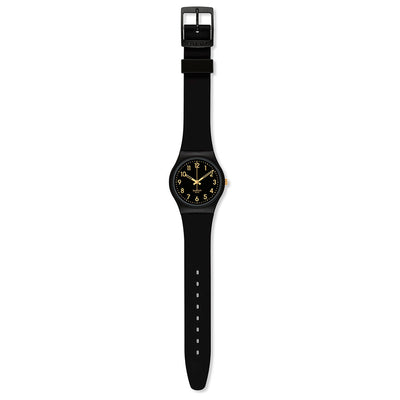 Reloj Swatch GB274 Golden Tac 34mm Swiss Made - Dando la Hora