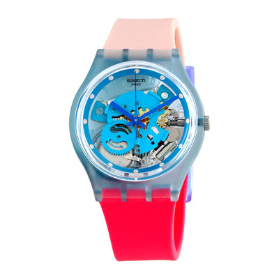 Reloj Swatch GL118 Varigotti 34mm Swiss Made - Dando la Hora