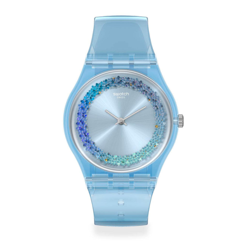 Reloj Swatch GL122 Azzura 34mm Swiss Made - Dando la Hora