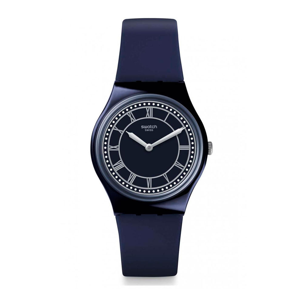 Reloj Swatch GN254 Blue Ben 34mm Swiss Made - Dando la Hora
