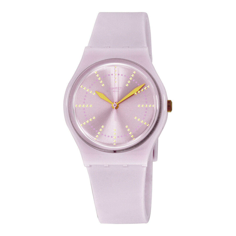 Reloj Swatch GP148 Marshmallow 34mm Swiss Made - Dando la Hora