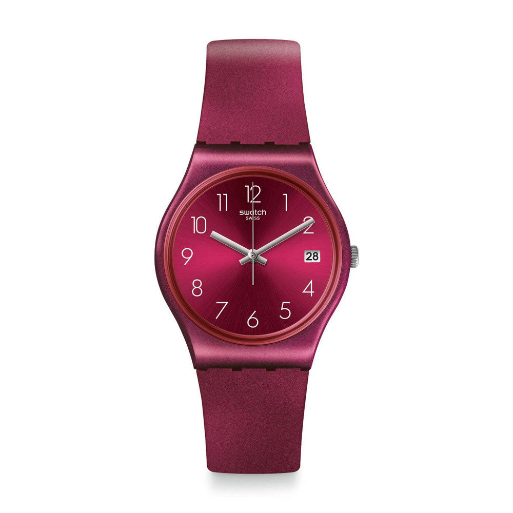 Reloj Swatch GR405 Redbaya 34mm Swiss Made - Dando la Hora