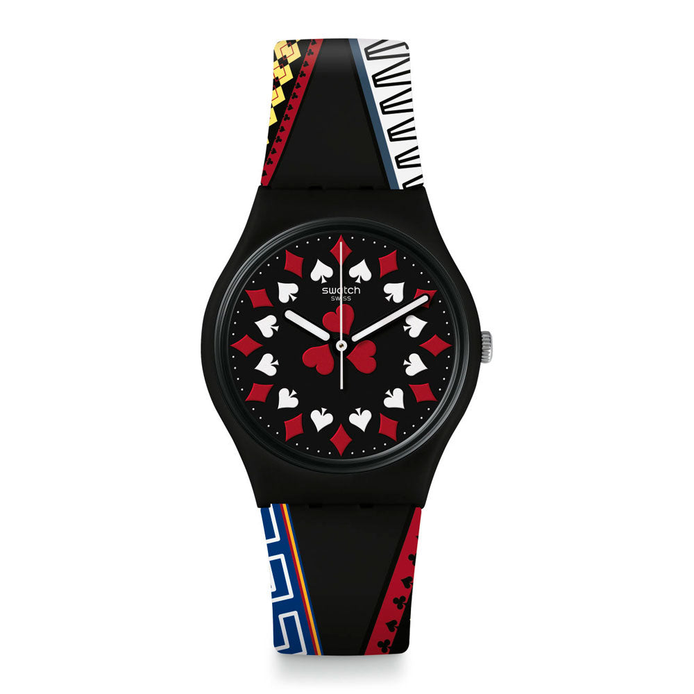 Reloj Swatch James Bond GZ340 Casino Royale Swiss Made - Dando la Hora