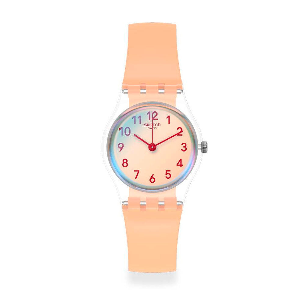 Reloj Swatch LK395 Casual Pink 25mm Swiss Made - Dando la Hora
