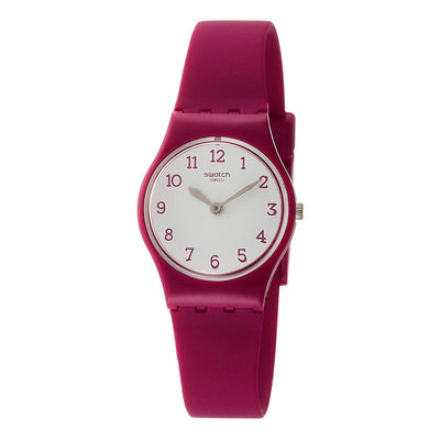 Reloj Swatch LR130 Redbelle 25mm Swiss Made - Dando la Hora