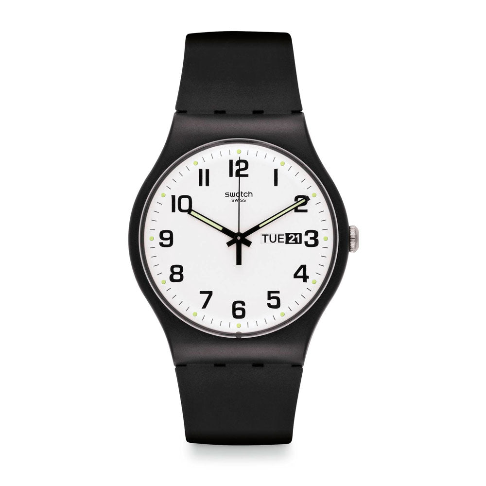 Reloj Swatch SUOB705 Twice Again 41mm Swiss Made - Dando la Hora
