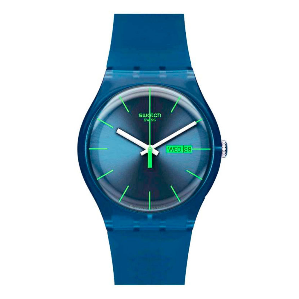 Reloj Swatch SUON700 Blue Rebel 41mm Swiss Made - Dando la Hora