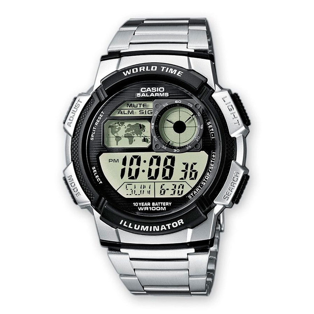 Reloj World Time Royale Casio Vintage AE-1000WD-1AVDF - Dando la Hora