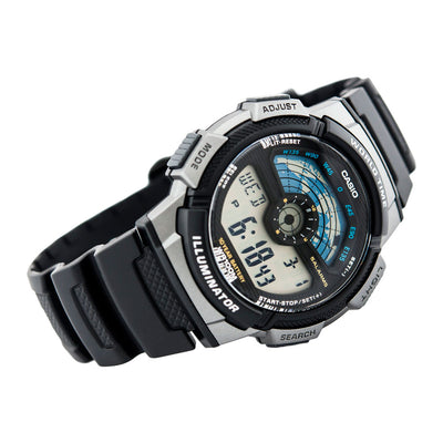 Reloj World Time Royale Casio Vintage AE-1100W-1AVDF - Dando la Hora