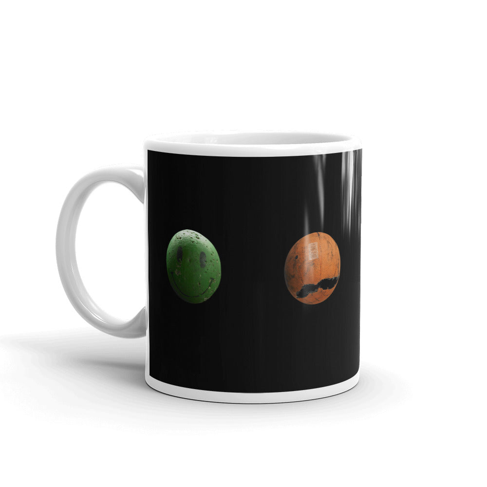 Mixed Balls Strip Mug