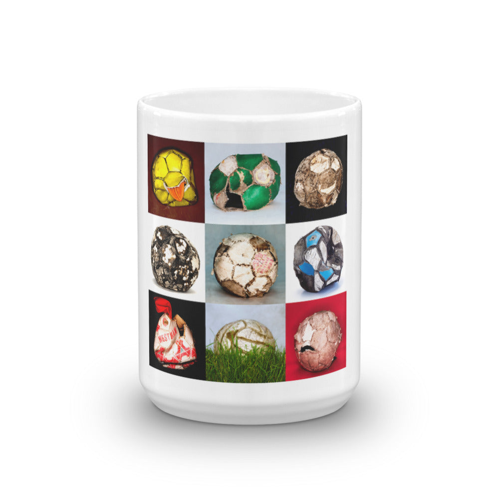 Football Collage Mug