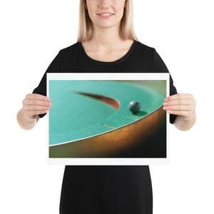 Open image in slideshow, Woman holding green crazy golf course print