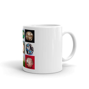 Open image in slideshow, Football Collage Mug