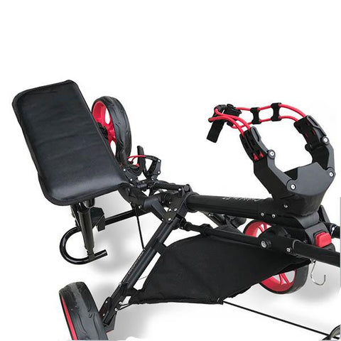 Image of CaddyTek CaddyLite EZ-Fold Removable Seat - Zoom Golf Australia
