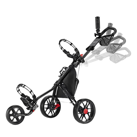 Image of CaddyTek 11.5 v3 SuperLite Deluxe 3 Wheel Golf Buggy - Zoom Golf Australia