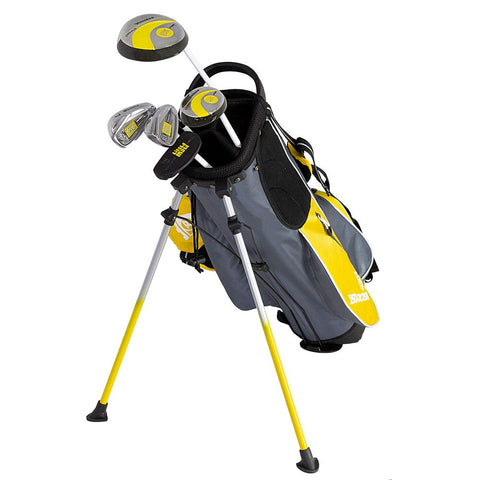 Image of Brosnan Little Mate S7 Junior Yellow Golf Package