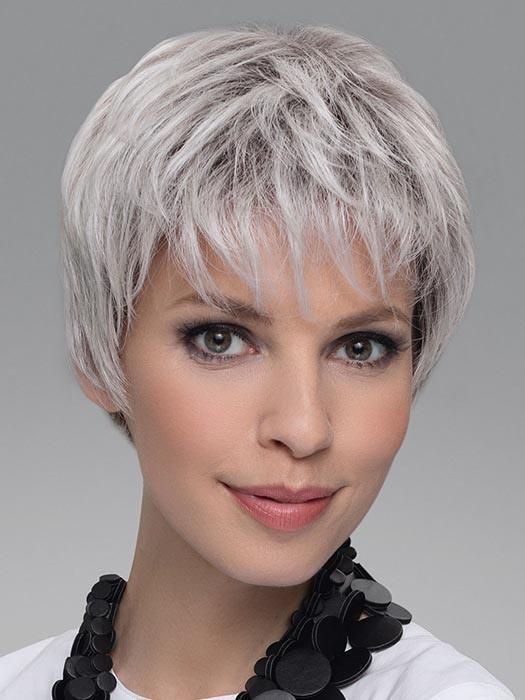 Color Shown - SILVER BLONDE ROOTED