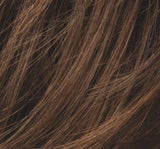 CHOCOLATE-ROOTED (830.28.6) - Medium to Dark Brown base with Light Reddish Brown highlights and Dark Roots