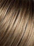 DARK-SAND-ROOTED (12.20.23.8) - Light Brown base with  Lighest Ash Brown and Medium Honey Blonde blend and Dark Roots