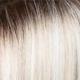 SILVERSUNRT8 - Iced Blonde Dusted with Soft Sand & Golden Brown Roots