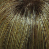14/26S10 - Shaded Pralines n' Cream :: Lt Gold Blonde & Med Red-Gold Blonde Blend, Shaded w/ Lt Brown - Salon Color Levels: 9G/7RG/7N