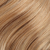 27T613 - Med Red-Gold Blonde & Pale Natural Gold Blonde w/ Pale Natural Gold Blonde Tips - Salon Color Levels: 8RG/12NG