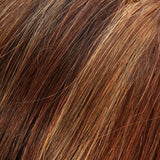 32F - Med Red & Med Red-Gold Blonde Blend w/ Med Red Nape - Salon Color Levels: 6NR/7RG