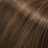 8/30 - Med Brown & Med Red-Gold Blend - Salon Color Levels: 5N/7RG
