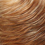 27F613 - Med Red-Gold Blonde & Pale Natural Gold Blonde Blend w/ Med Red-Gold Blonde Nape - Salon Color Levels: 8RG/12NG