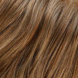 27T613F - Med Red-Gold Blonde & Pale Natural Gold Blonde Blend w/ Pale Tips & Med Red-Gold Blonde Nape - Salon Color Levels: 9RG/12NG