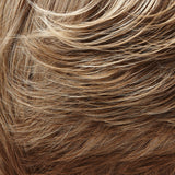 10/22TT - Lt Brown & Lt Natural Blonde Blend w/ Lt Brown Nape - Salon Color Levels: 6N/11N
