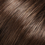 6H12 - Brown w/ 20% Lt Gold Brown Highlights - Salon Color Levels: 4N/8NG