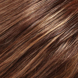 8F16 - Med Brown w/ Lt Natural Blonde Highlights - Salon Color Levels: 5N/10N