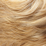 104F24B - Pale Natural White Blonde & Lt Natural Gold Blonde Blend w/ Lt Natural Gold Blonde Nape - Salon Color Levels: White Blonde/12NG/ 9NG