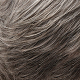 51F44 - Lt Grey w/ 30% Brown Front, graduating to Dk Brown w/ 65% Grey Nape - Salon Color Levels: Lt Grey/3N/6N