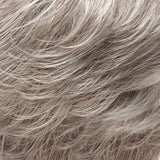 56F51 - Lt Grey w/ 20% Med Brown Front, graduating to Grey w/ 30% Med Brown Nape - Salon Color Levels: Lt Grey/4N/6N