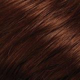 130/31 - Med Natural Red Brown & Med Red Blend w/ Med Red Tips - Salon Color Levels: 6NR/7R
