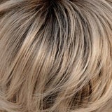 102S8 - Shaded Crème :: Pale Platinum Blonde, Shaded w/ Med Brown - Salon Color Levels: 12N/5N