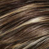 FS10 - Toffee Syrup :: Lt Brown with Natural Gold Blonde Bold Highlights - Salon Color Levels: 5N/10NG