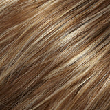 FS26/31 - Caramel Syrup :: Med Natural Red Brown w/ Med Red Gold Blonde Bold Highlights - Salon Color Levels: 7RG/9NG