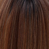 Mocha with Cream (2R/613/30/6) - A rich darkest brown root with a blend of dark chocolate brown and cinnamon along with milk chocolate, cool blonde and light blonde highlights